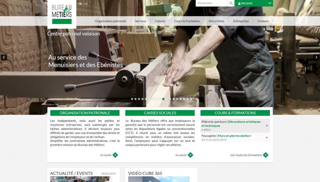 cr ation interface bureau des m tiers lausanne suisse. Black Bedroom Furniture Sets. Home Design Ideas