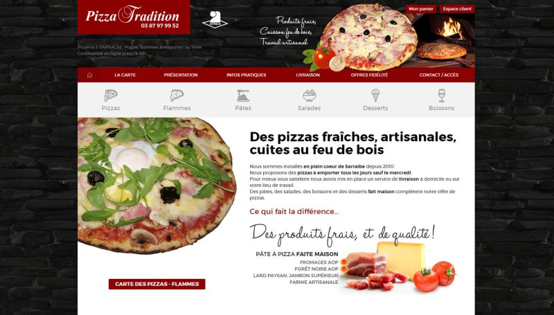 Pizza Tradition Sarralbe