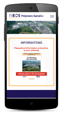 Sites internet sur smartphone